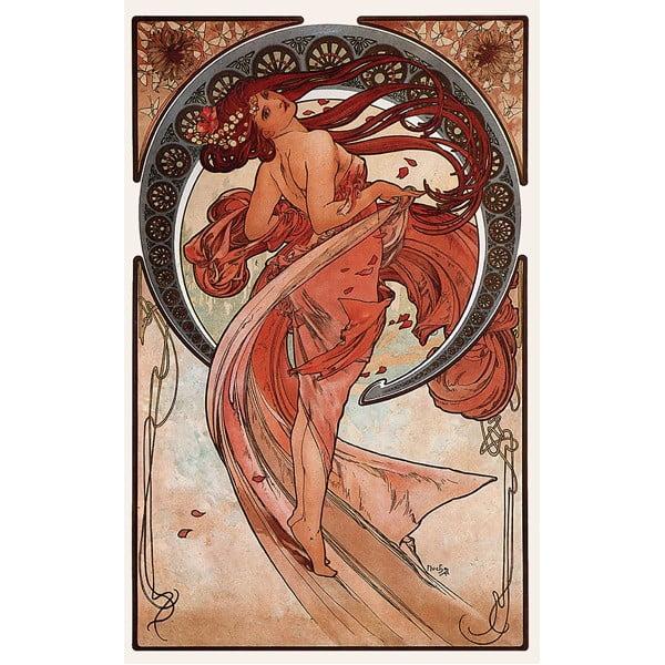 Obraz Dance od Alfonse Muchy, 40x60 cm