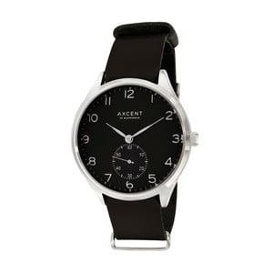 Černé hodinky Axcent of Scandinavia Vintage