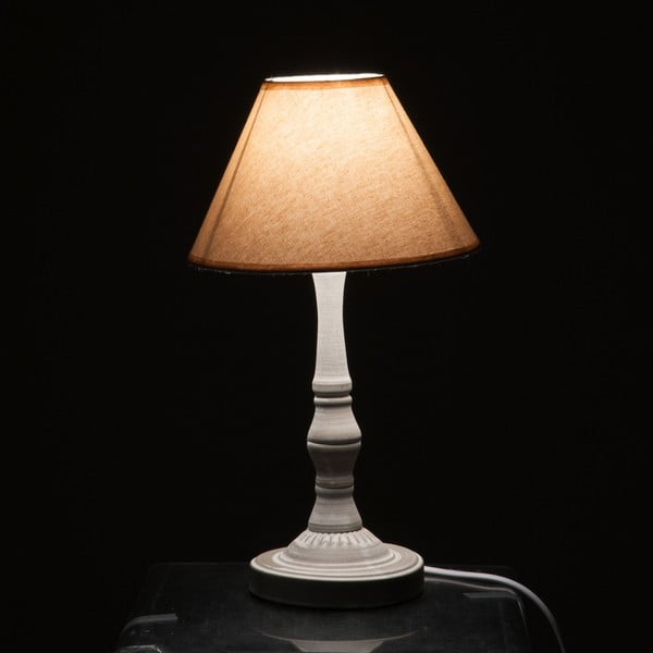 Stolní lampa Classic Lamp Beige and Grey