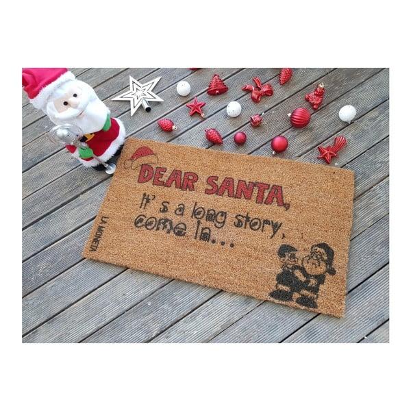 Dear Santa lábtörlő, 70 x 40 cm - Doormat