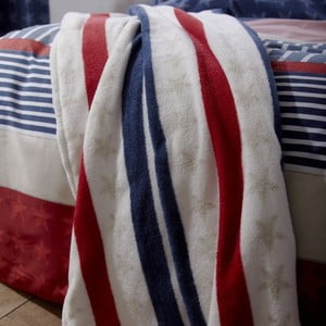 Deka Catherine Lansfield Stars and Stripes, 120x150 cm