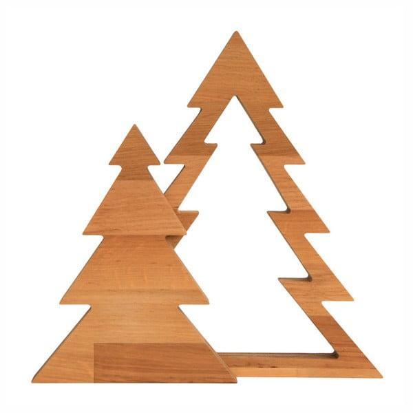 Duo Xmas égerfa dekoráció, magasság 32,5 cm - Nørdifra