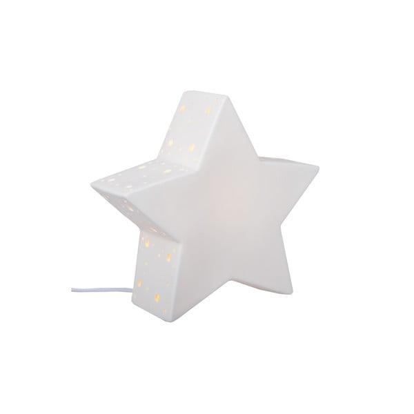 Keramická stolní lampička Star, 25 cm