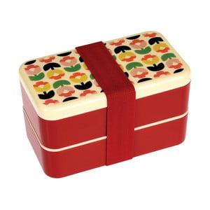 Cutie pentru gustare etajată, cu tacâmuri Rex London Tulip Bloom