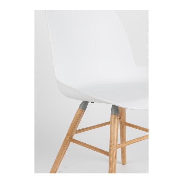Set 2 scaune Zuiver Albert Kuip, alb