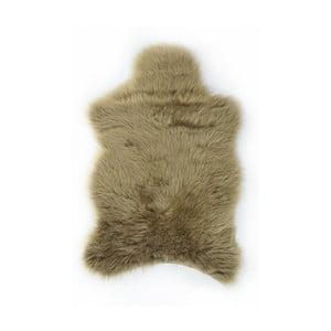 Kožešinový koberec Apolena, 100x150 cm, hnědý
