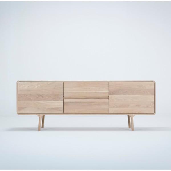Fawn tömör tölgyfa TV állvány - Gazzda