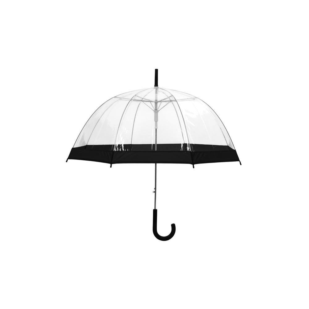 Transparentní holový deštník sautomatickým otevíráním Ambiance Birdcage Border, ⌀84cm
