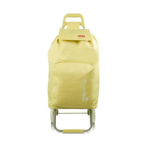 Žlutá nákupní taška na kolečkách Bluestar Chariot, 104 l