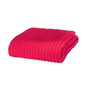Deka Chunky Knit Red, 125x150 cm