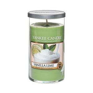 Vonná svíčka Yankee Candle Vanilka s Limetkami, doba hoření až 90 hodin