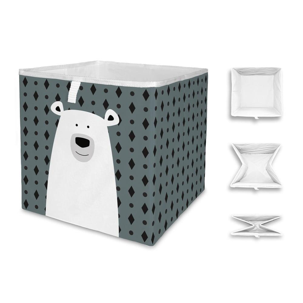 Dětský úložný box Mr. Little Fox Polar Bear