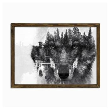 Tablou Husky, 70 x 50 cm imagine