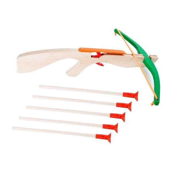 Crossbow játék nyílpuska 5 nyíllal - Legler