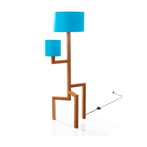 Stojací lampa Tip Blue