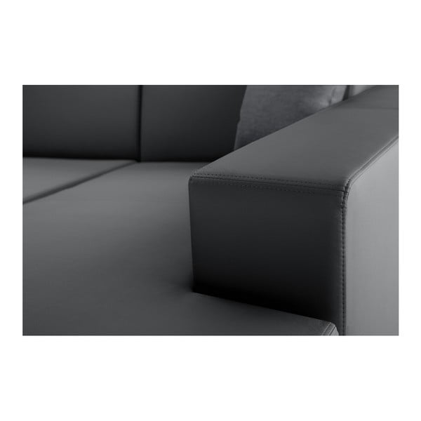 Světle šedá rozkládací sedačka Interieur De Famille Paris Tresor, pravý roh