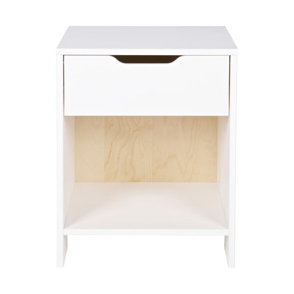 Bílý noční stolek De Eekhoorn Nikki