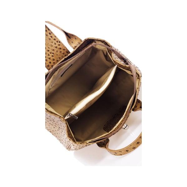 Kožená kabelka Italia 513 Fango