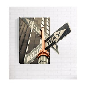 Nástěnný 3D obraz Mosticx One Way, 40 x 60 cm