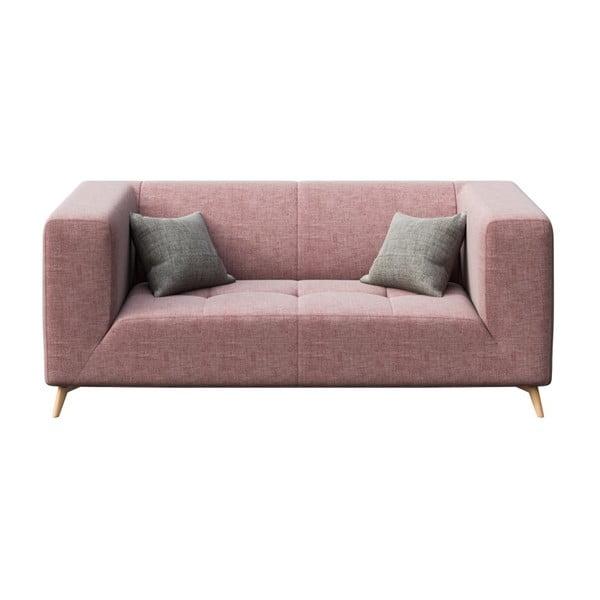 Toro rózsaszín kétszemélyes kanapé - MESONICA