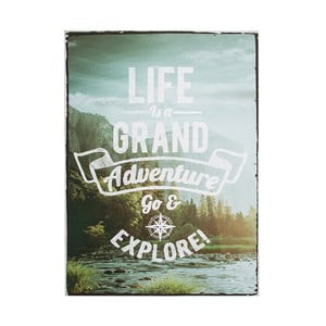 Obraz Graham & Brown Life Is Adventure, 50 x 70 cm