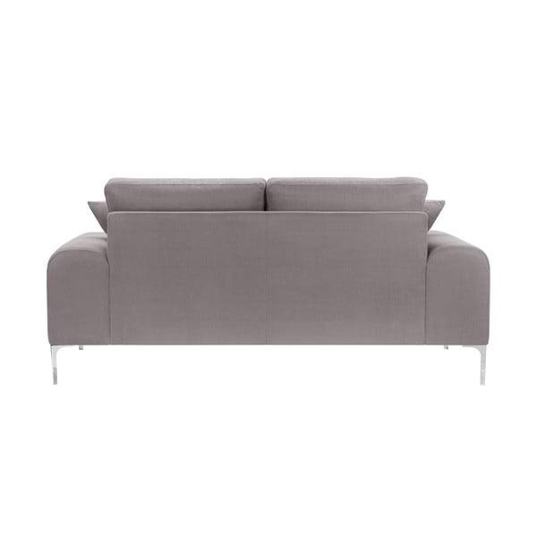 Canapea cu 2 locuri Corinne Cobson Dillinger, gri - maro