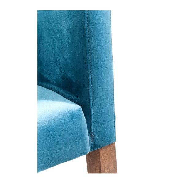 Petrolejově modré křeslo Kare Design Mode