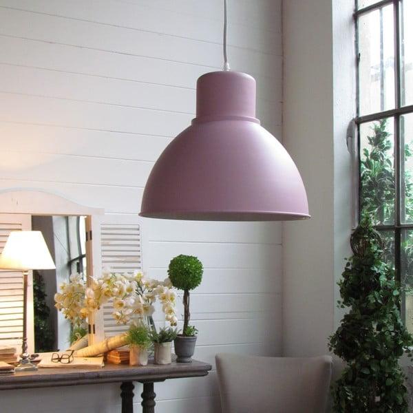 Stropní svítidlo Bruno Pink, 33x29x8 cm