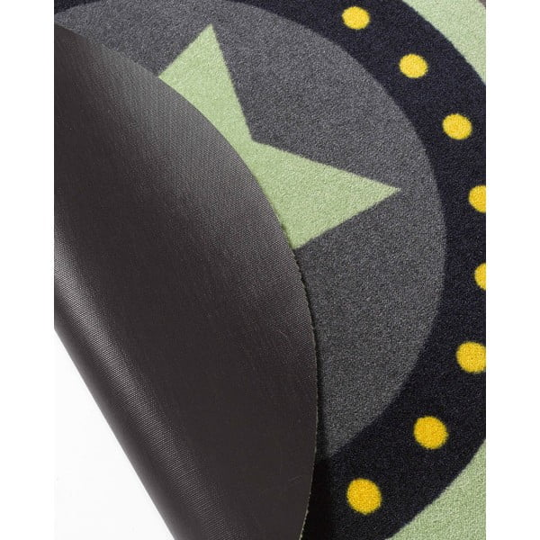Dětský zelený koberec Zala Living Deko Star,, ⌀100cm