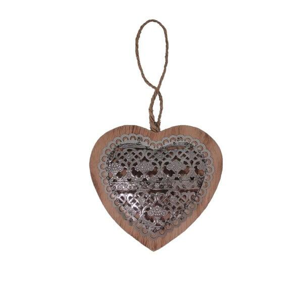 Dekorativní závěsné srdce Antic Heart