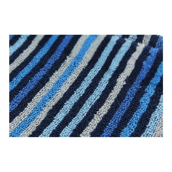 Sada 2 osušek Collette Dark Blue, 70x140 cm
