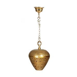 Závěsné svítidlo ve zlaté barvě Denzzo Haider