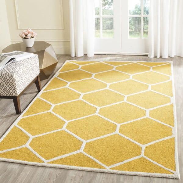 Koberec Lulu Yellow, 121x182 cm