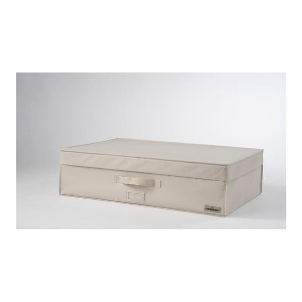 Světle béžový vakuový box Compactor, šířka72cm