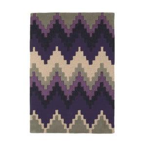 Vlněný koberec Cuzzo Purple 200x300 cm