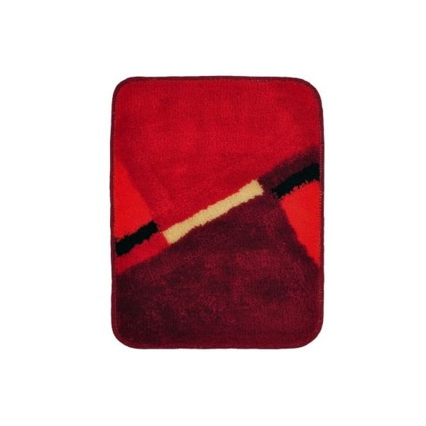 Koupelnová předložka Acus Red, 50x40 cm