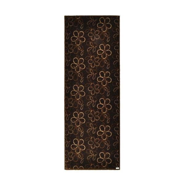 Rohožka Zala Living Floral Brown, 67 x 180 cm