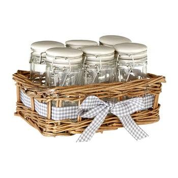 Set 6 recipiente pentru condimente Premier Housewares Country Cottage, 16 x 10 cm imagine