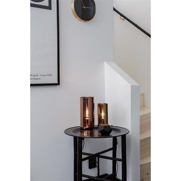 Stolní lampa v mosazné barvě Markslöjd Storm, ⌀ 12cm