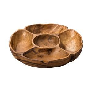 Platou servire din lemn de salcâm Premier Housewares Socorro
