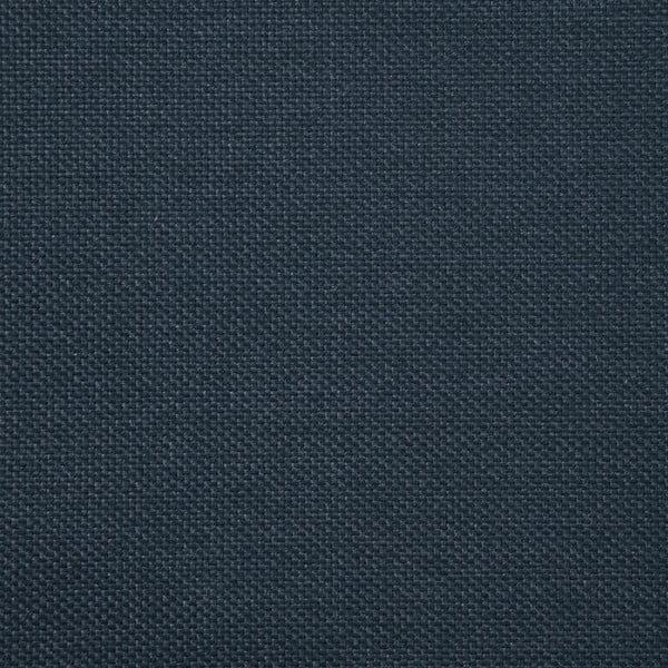 Námořnicky modrá trojmístná pohovka s mosaznými nohami Vivonita Meyer