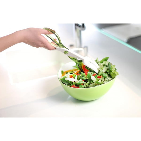 Zelený salátový příbor Vialli Design Livio