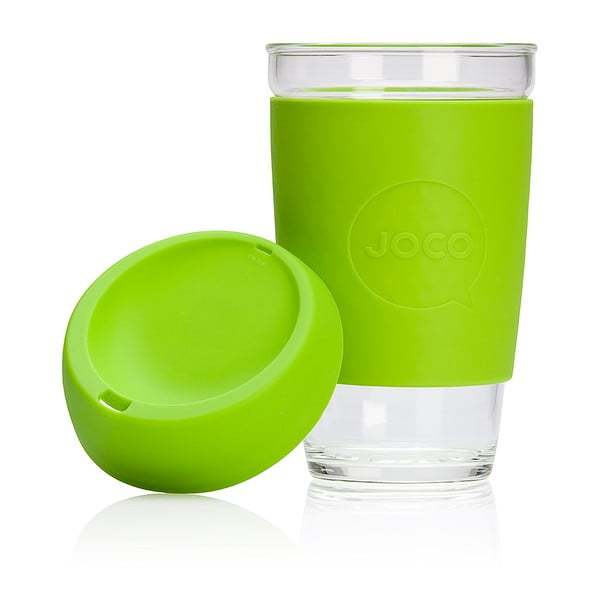 Cestovní hrnek na kávu Joco Cup 454 ml, limetkový