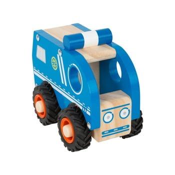 Mașinuță de poliție din lemn pentru copii Legler Police de la Legler