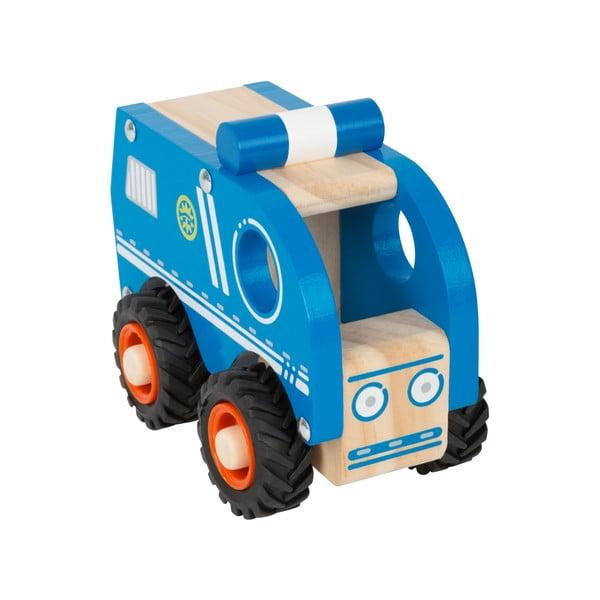 Detské drevené policajné autíčko Legler Police
