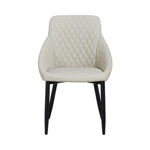 Béžová jídelní židle Hanah