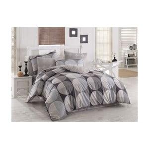 Lenjerie de pat cu cearșaf din bumbac Zara, 200 x 220 cm
