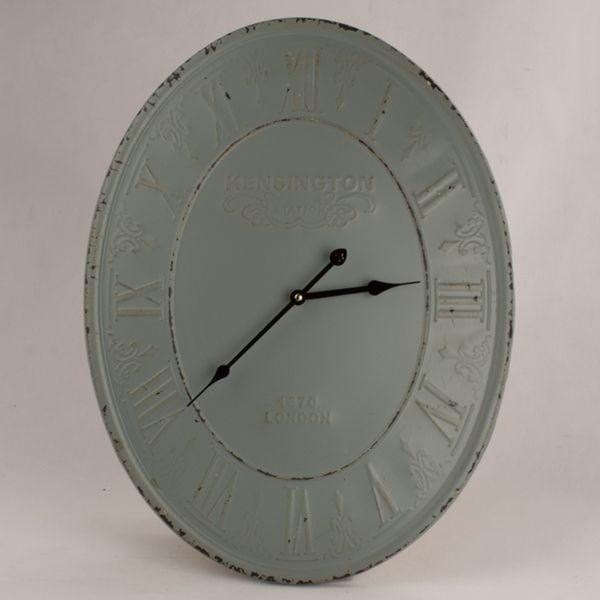 Metalowy zegar ścienny Dakls Ruto, ⌀ 45 cm