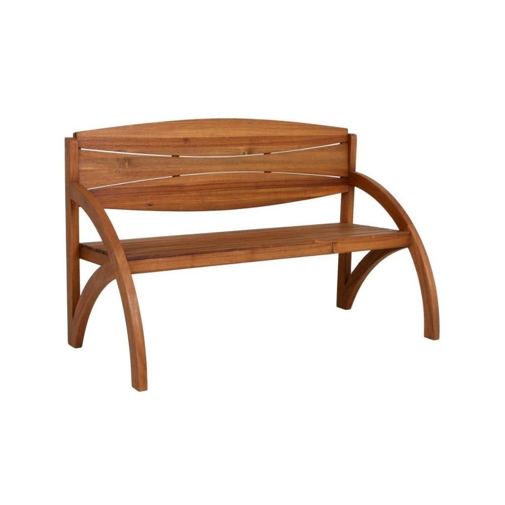 Zahradní lavice z akáciového dřeva ADDU Hadia