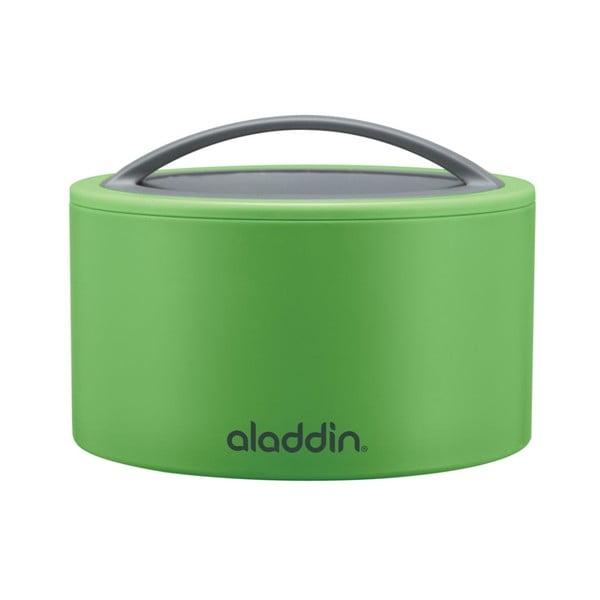 Svačinový termobox Bento 0.35 l, zelený